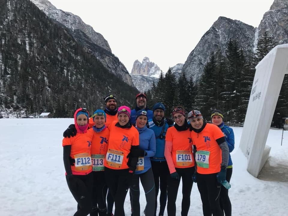 Winter Night Run a Dobbiaco